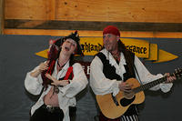 Pirate Shantyman and the Bonnie Lass